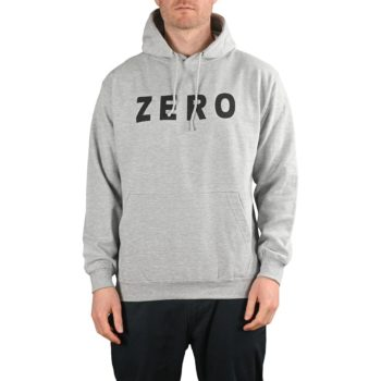 Zero Army Pullover Hoodie - Grey / Black