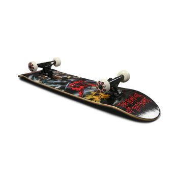 """Zero x Iron Maiden Number Of The Beast 8"""" Complete Skateboard"""