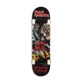 "Zero x Iron Maiden Number Of The Beast 8"" Complete Skateboard"