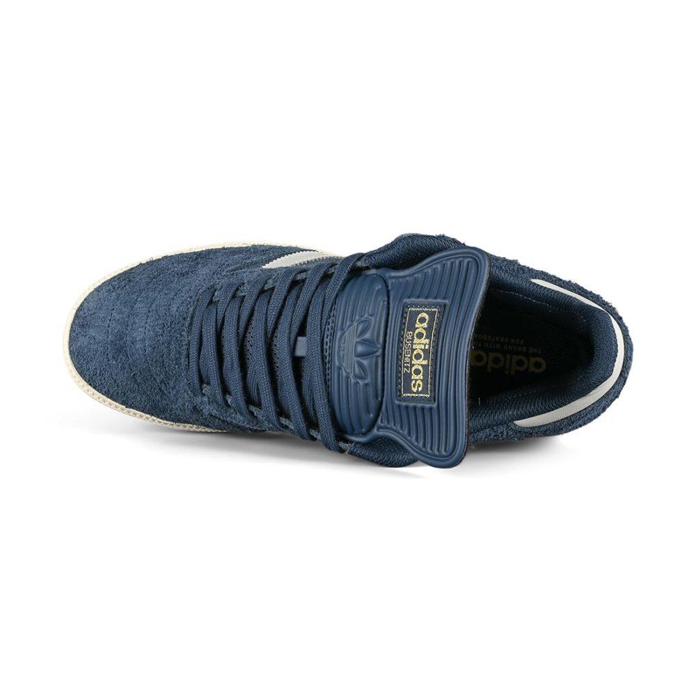 Adidas Busenitz Skate Shoes - Crew Navy / Grey / Chalk White
