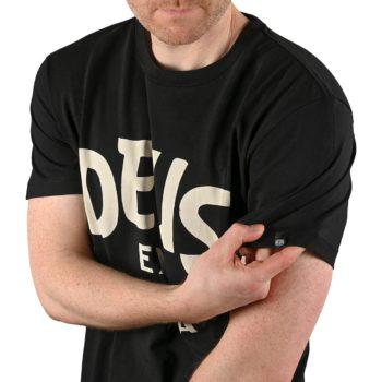 Deus Ex Machina Curvy S/S T-Shirt - Black