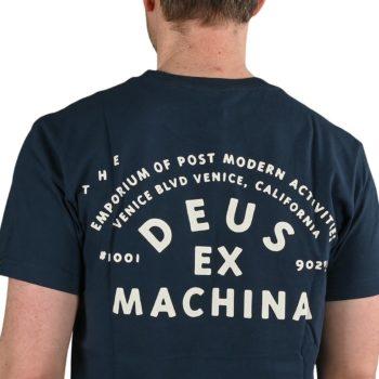 Deus Ex Machina The A100 S/S T-Shirt - Navy