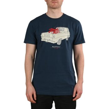 Deus Ex Machina The A100 S/S T-Shirt - Navy