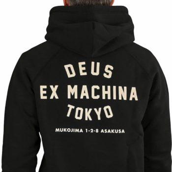 Deus Ex Machina Tokyo Address Pullover Hoodie - Black