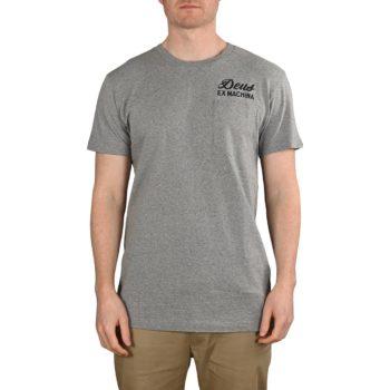 Deus Ex Machina Tokyo Address S/S T-Shirt - Grey Marle