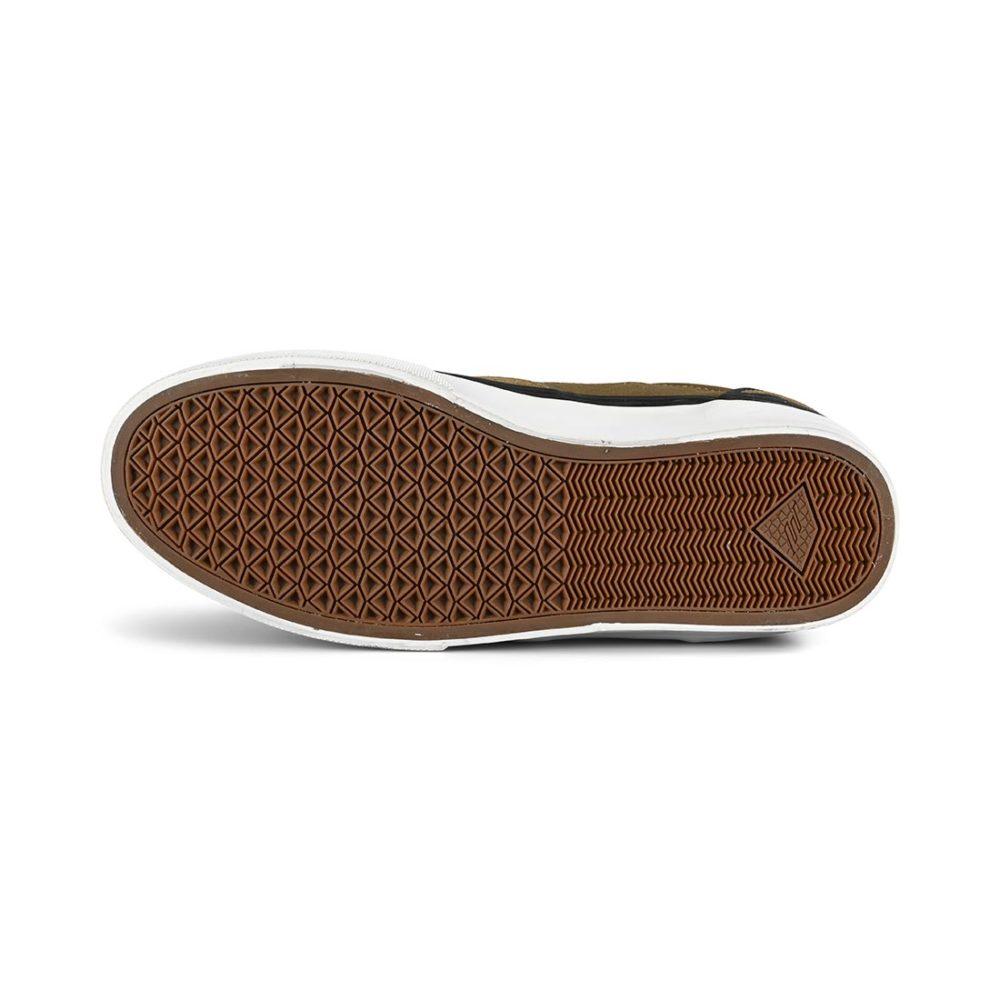 Emerica Dickson Skate Shoes - Olive / Black