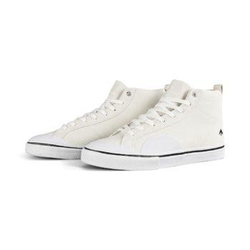 Emerica Omen Hi Skate Shoes - White