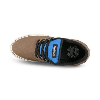 Etnies Barge Preserve Skate Shoes - Brown / Blue