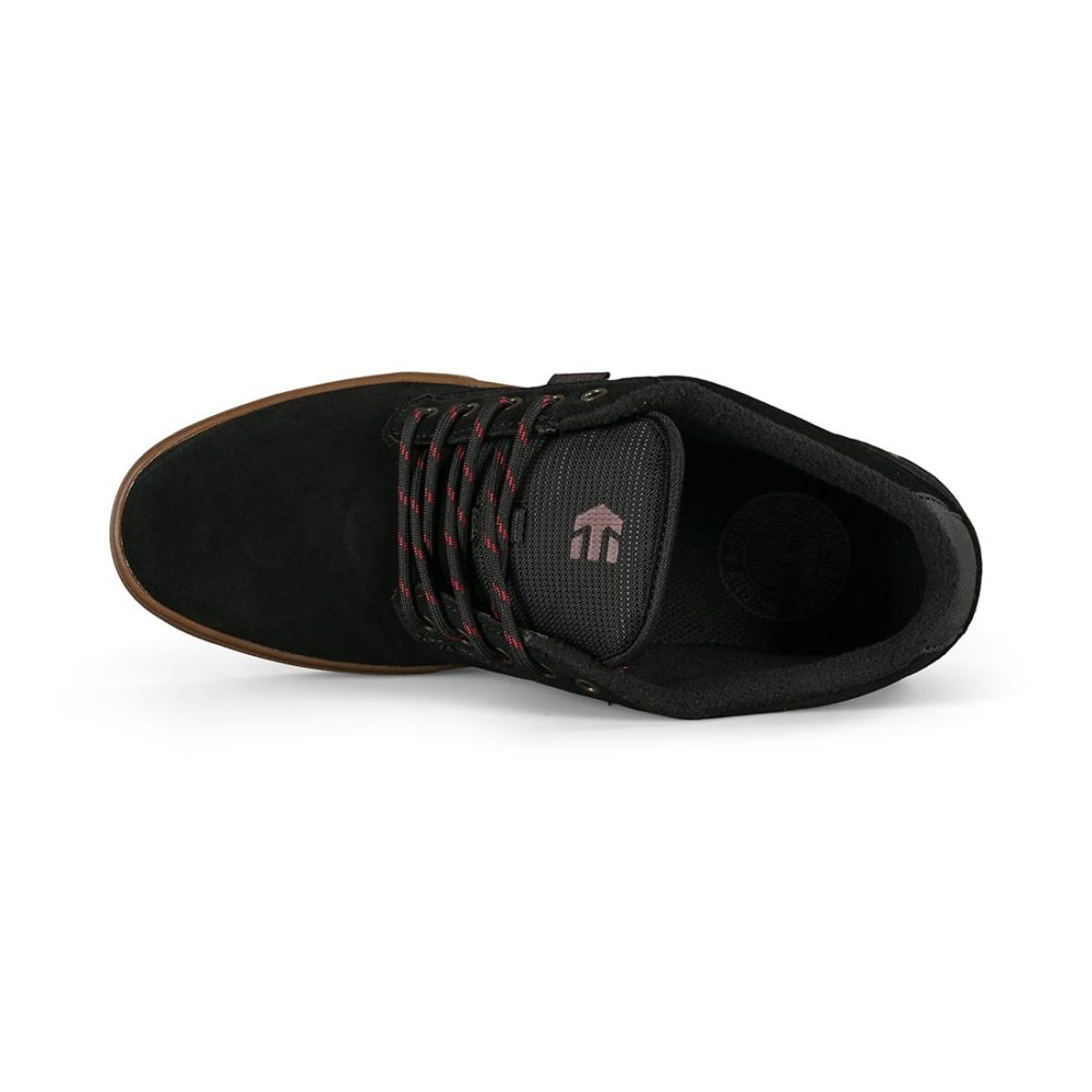 Etnies Jameson Mid Skate Shoes - Black / Gum