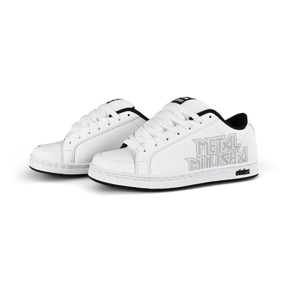 Etnies Metal Mulisha Kingpin 2 Shoes - White