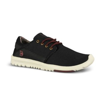 Etnies Scout Bloom Shoes - Black