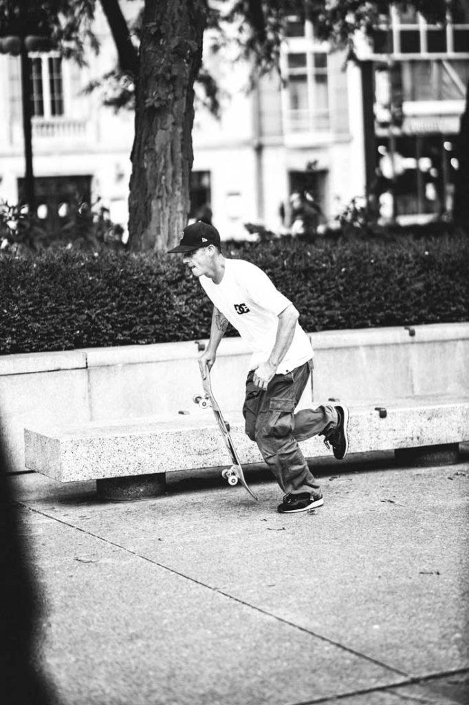 Kalis Art Museum Skateboarding