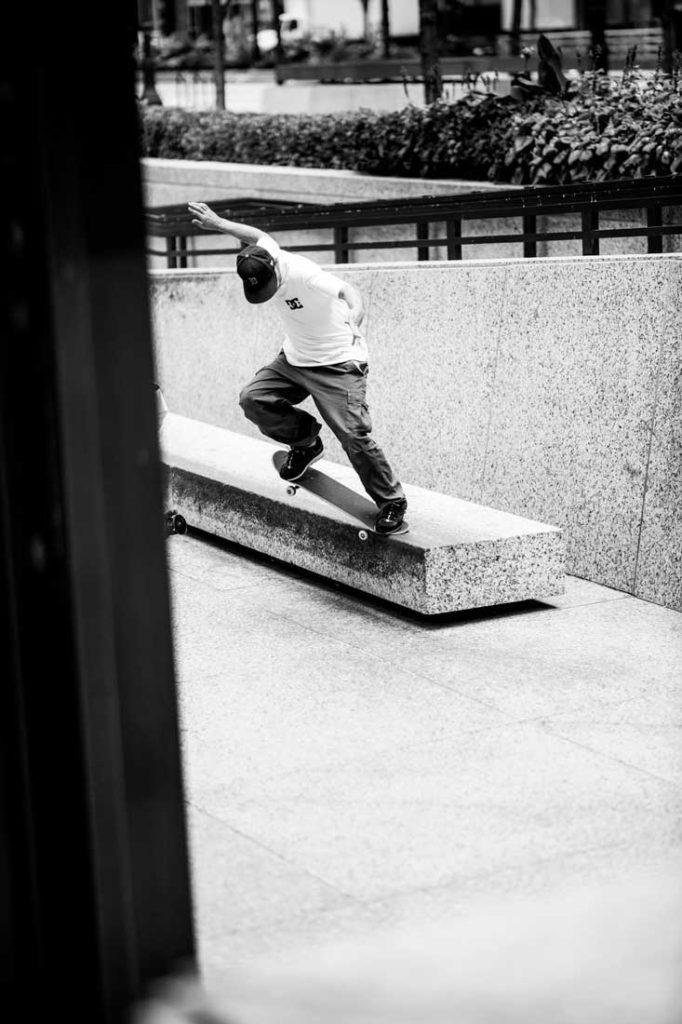 Josh Kalis Skateboarding