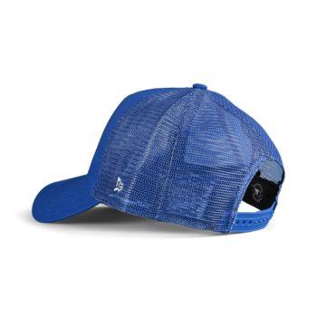 New Era LA Dodgers Tonal Mesh A-Frame Trucker Cap - Blue