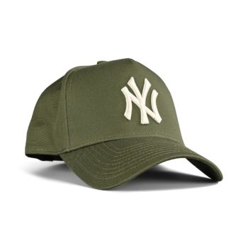 New Era NY Yankees Colour Essential 9Forty A-Frame Cap - Khaki