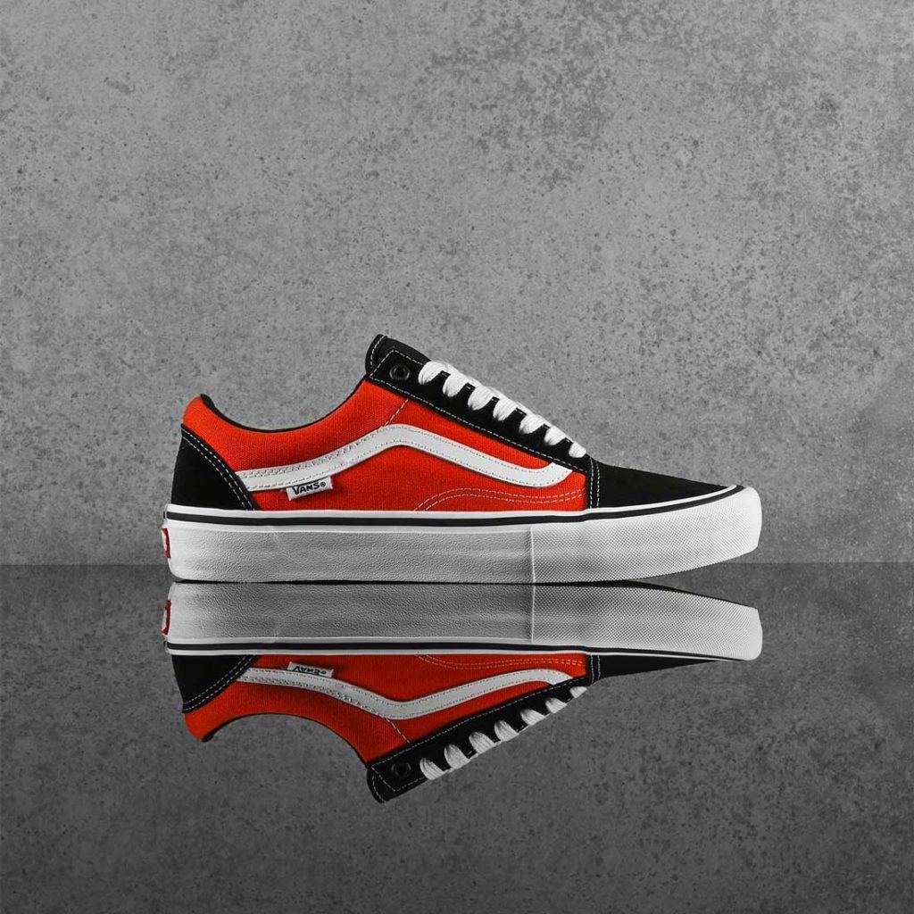 Vans skateboarding shoes