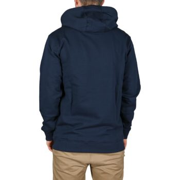 Vans Authentic Checker Pullover Hoodie - Dress Blues