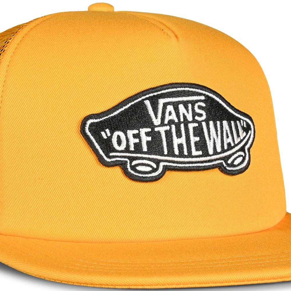 Vans Classic Patch Trucker Hat - Saffron