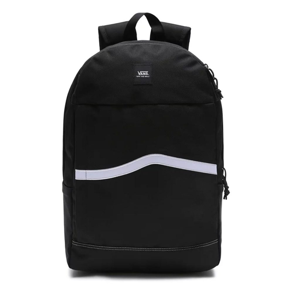 Vans Construct 27L Backpack - Black / White