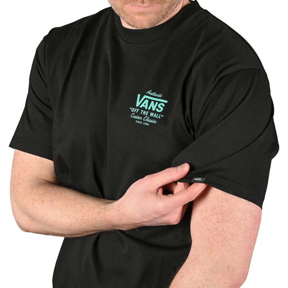 Vans Holder St Classic S/S T-Shirt - Black / Waterfall