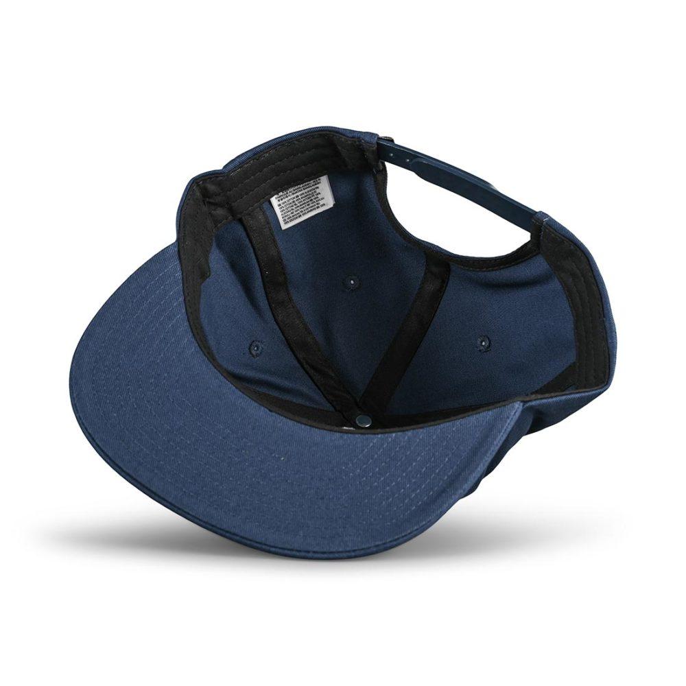 Vans Logo Pack Snapback Hat - Dress Blues