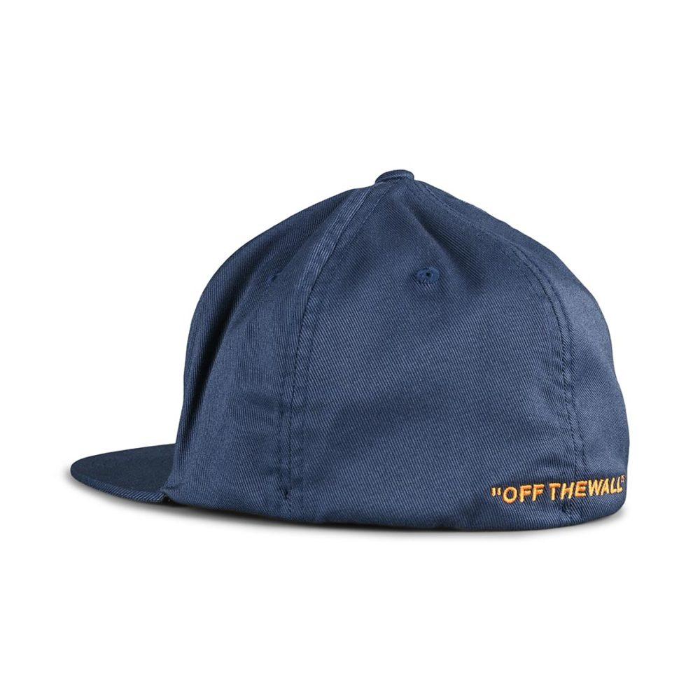 Vans Splitz Flexfit Hat - Dress Blues / Saffron