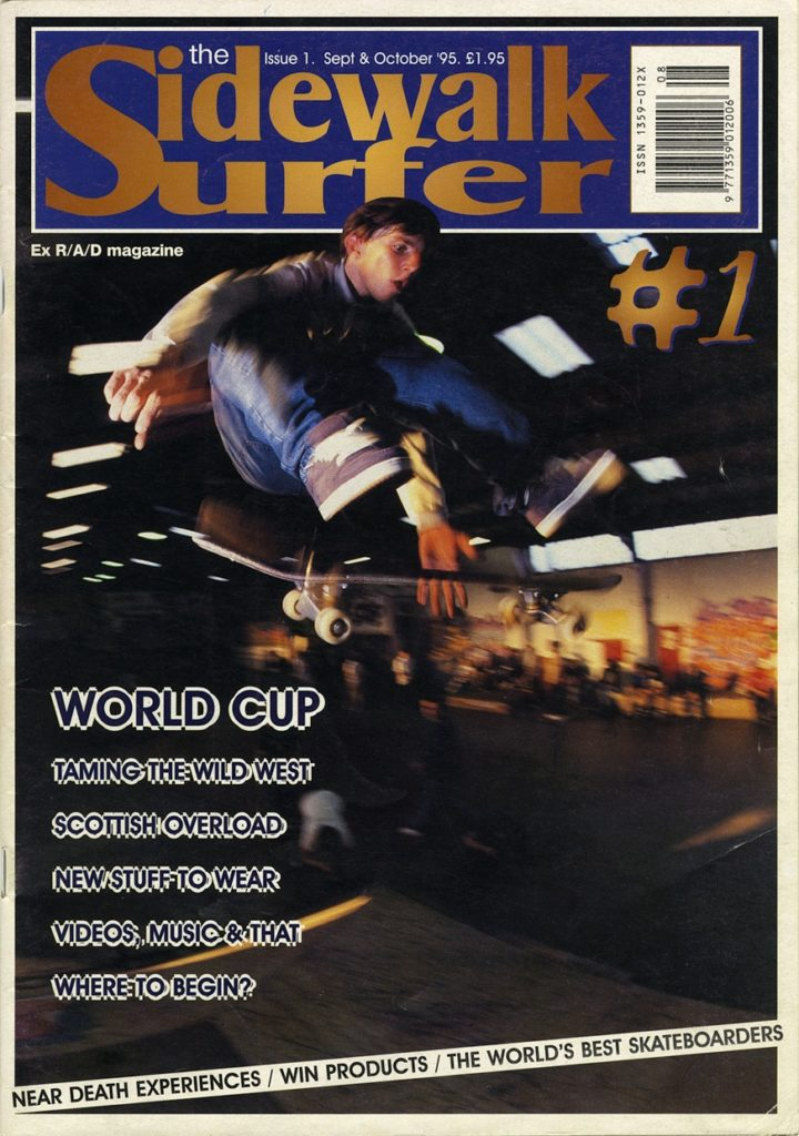 Sidewalk Mag Issue 1 Cover
