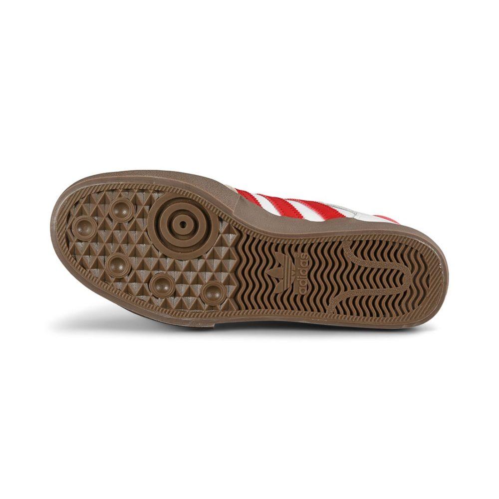 Adidas Matchbreak Super Skate Shoes - Cloud White / Power Red / Gum