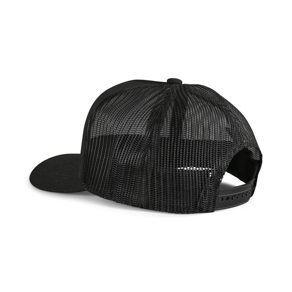 Brixton Alpha Block X C MP Mesh Back Trucker Cap - Black