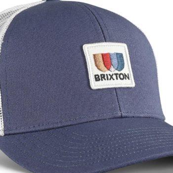 Brixton Alton X MP Mesh Back Trucker Cap - Joe Blue / White