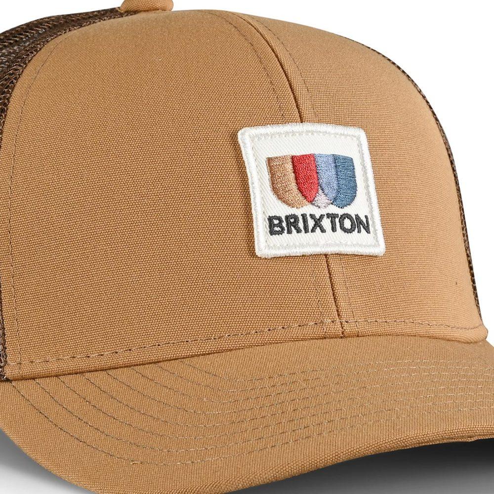 Brixton Alton X MP Mesh Back Trucker Cap - Lemon Curry