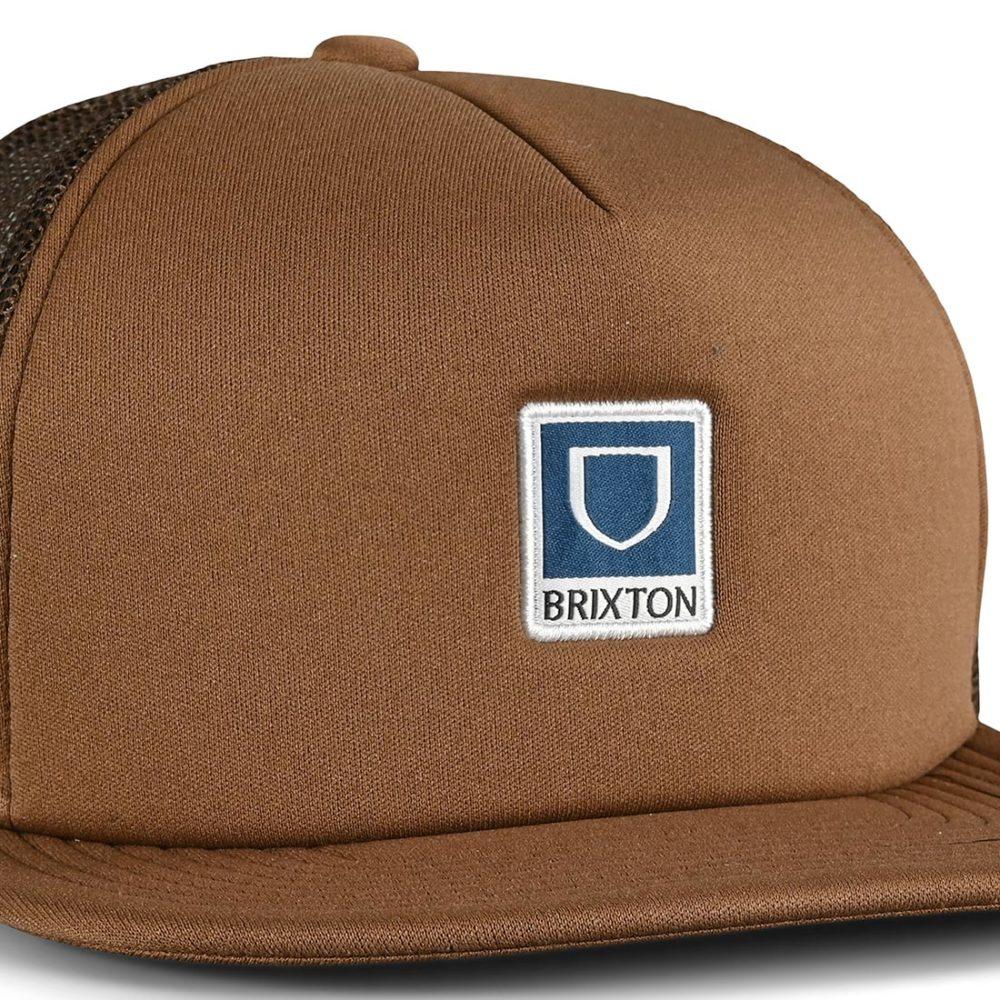 Brixton Beta MP Mesh Back Trucker Cap - Toffee