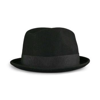 Brixton Gain Fedora Hat - Black