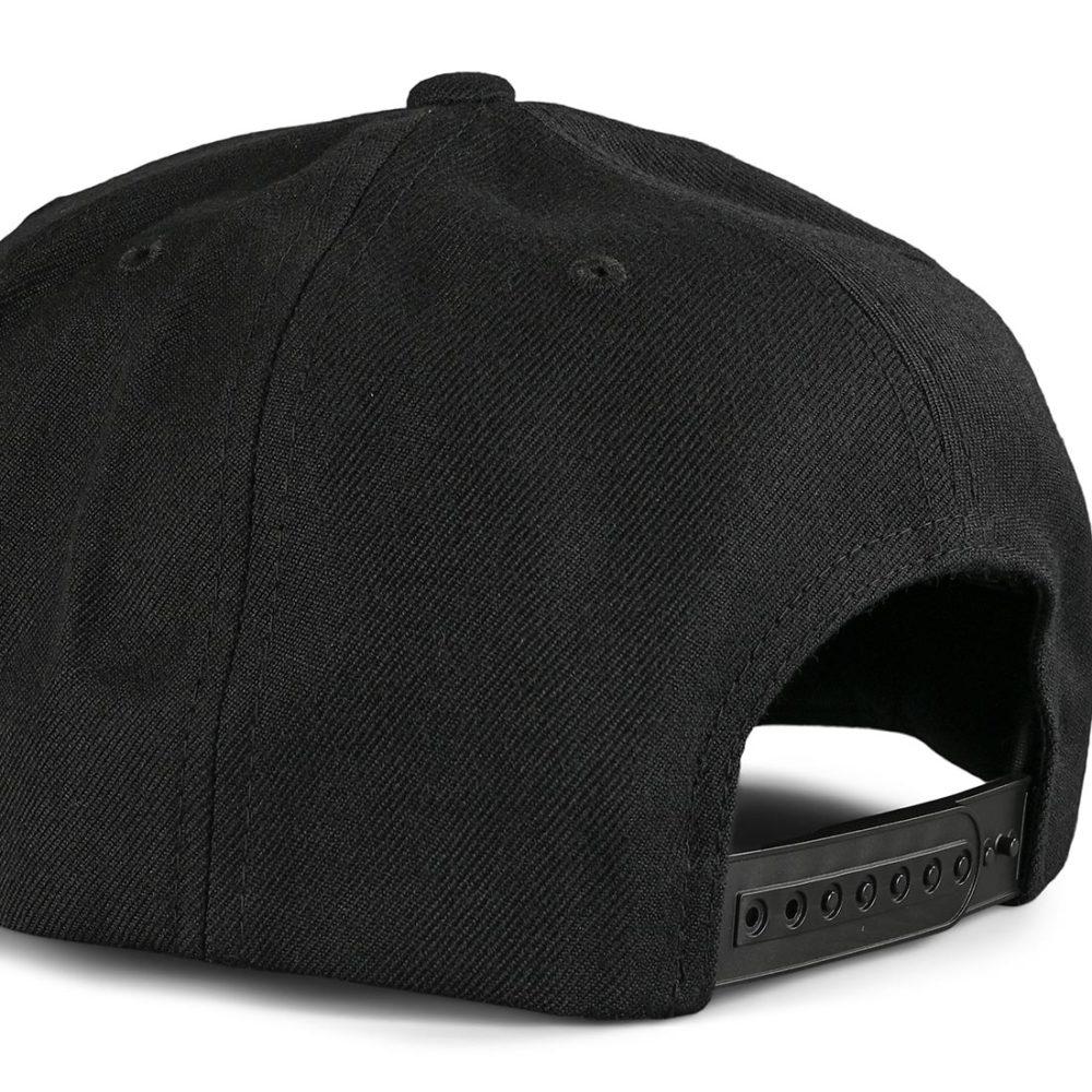 Brixton Oath III Snapback Cap - Black