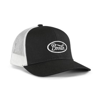 Brixton Parsons X MP Mesh Back Trucker Cap - Black / White