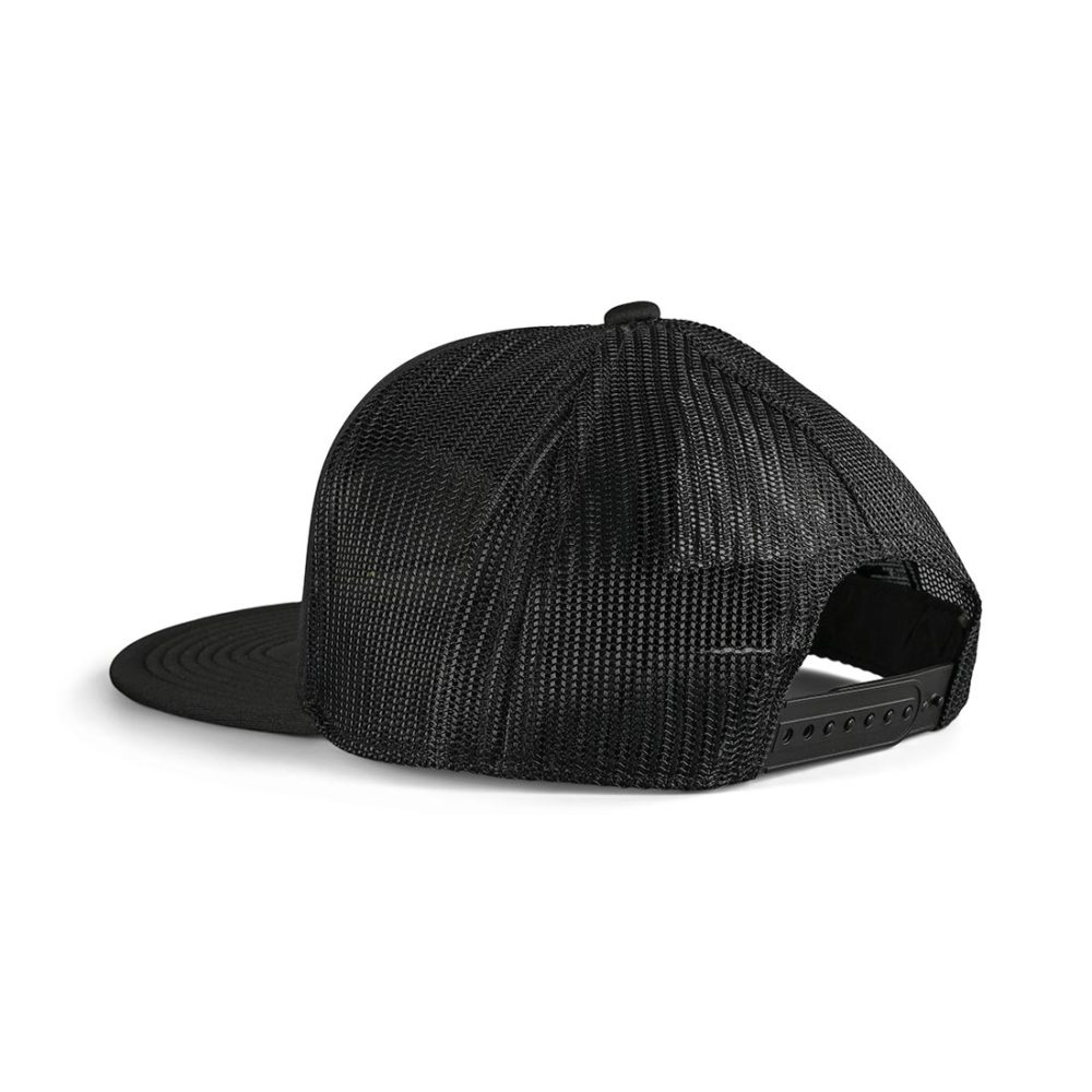 Brixton Rampant MP Mesh Back Trucker Cap - Black