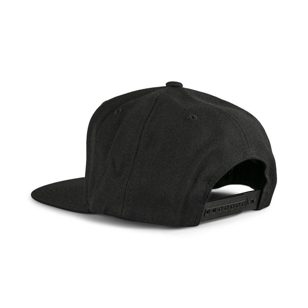 Brixton Rival MP Snapback Cap - Black / Gold