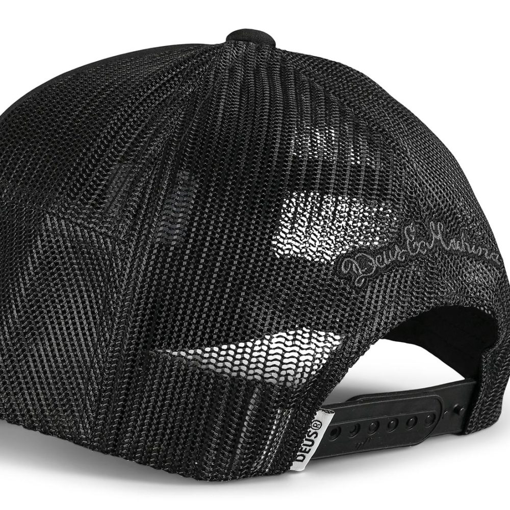 Deus Ex Machina Hayward Shield Trucker Cap - Black