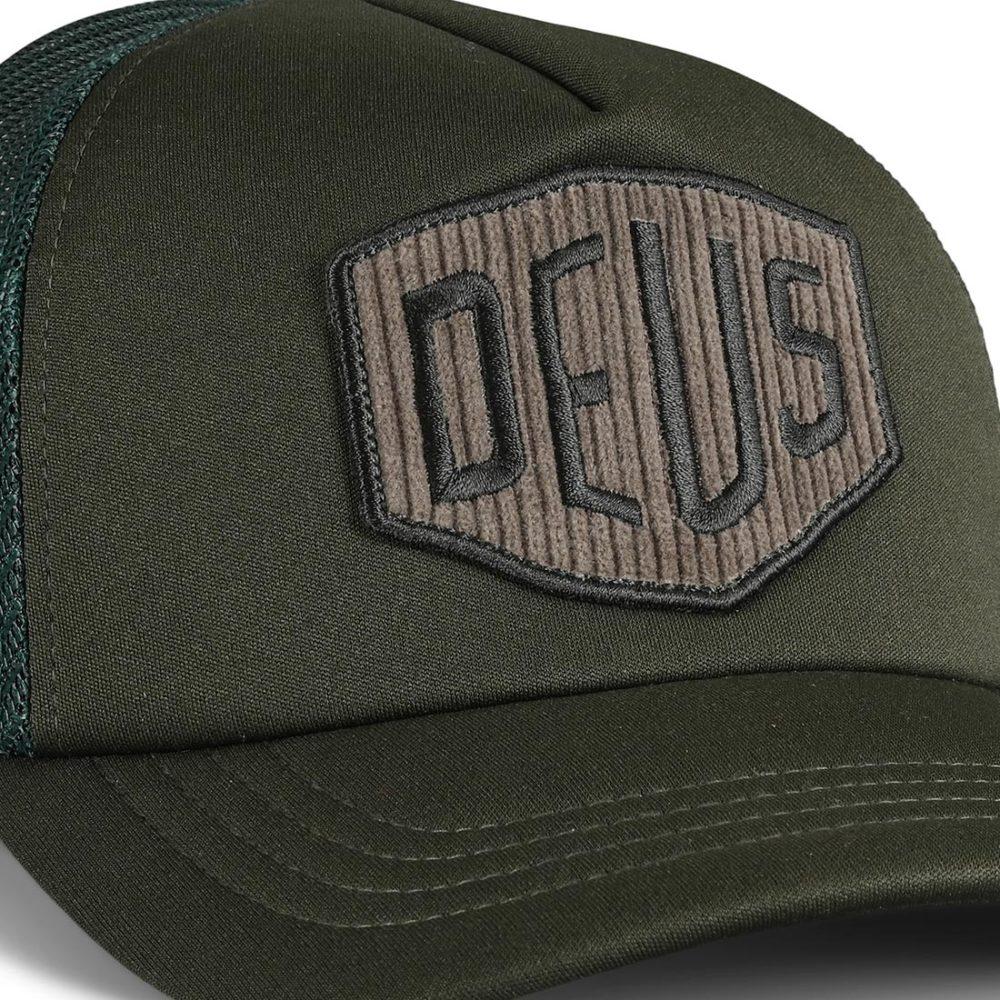 Deus Ex Machina Hayward Shield Trucker Cap - Forest Night