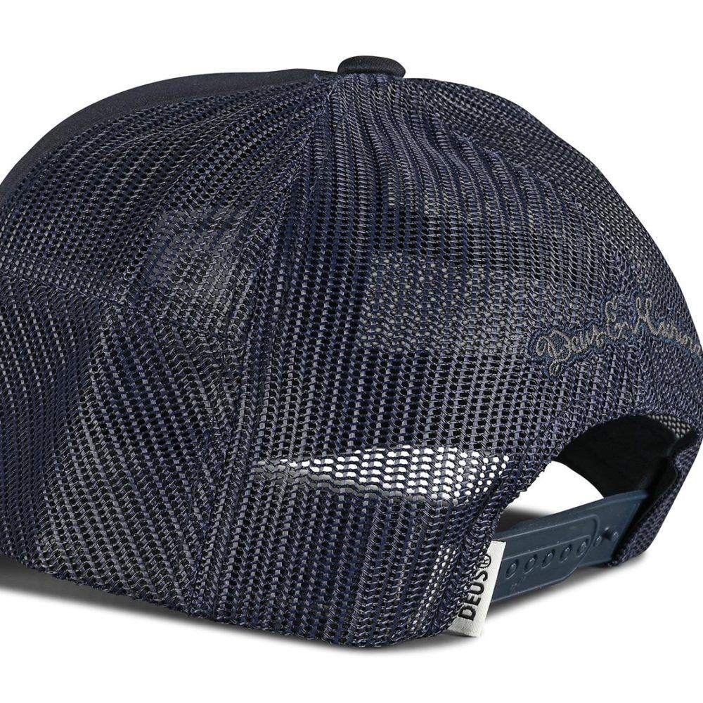 Deus Ex Machina Hayward Shield Trucker Cap - Midnight Blue