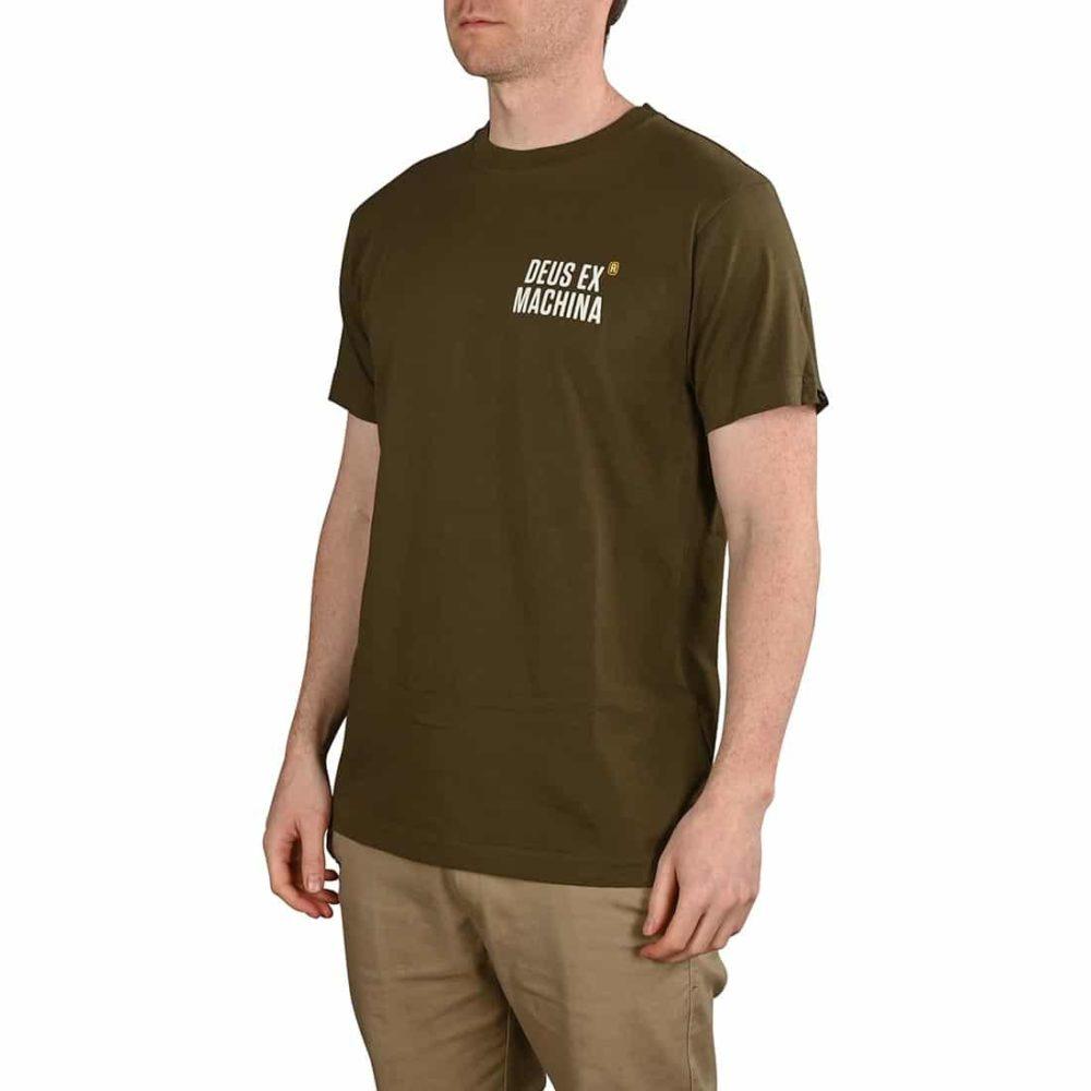 Deus Ex Machina Panorama S/S T-Shirt - Dark Olive