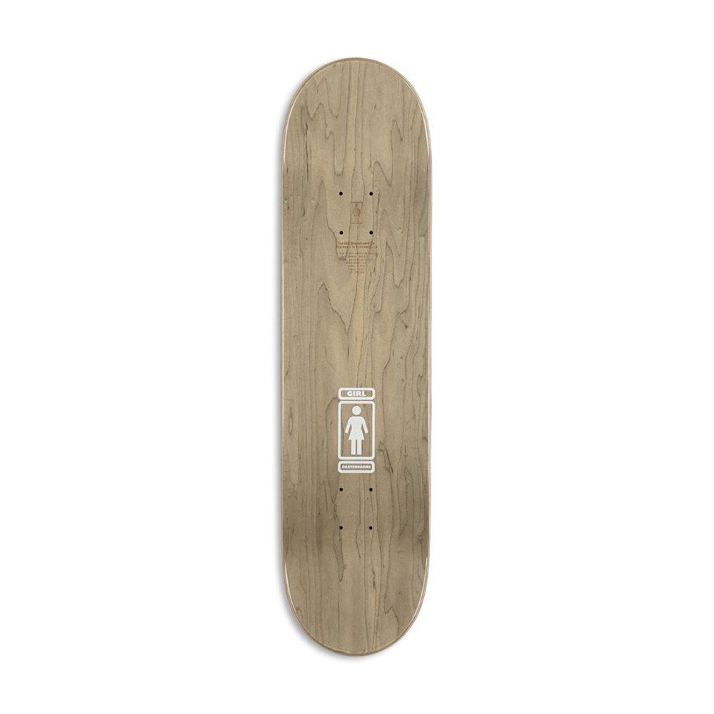 Girl 93 Til W40 V2 Niels Bennet Skateboard Deck