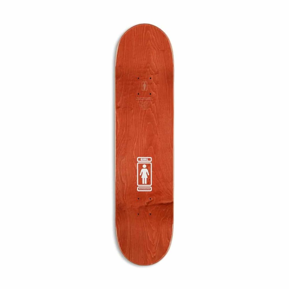 "Girl 93 Til W40 V2 Sean Malto 8"" Skateboard Deck"
