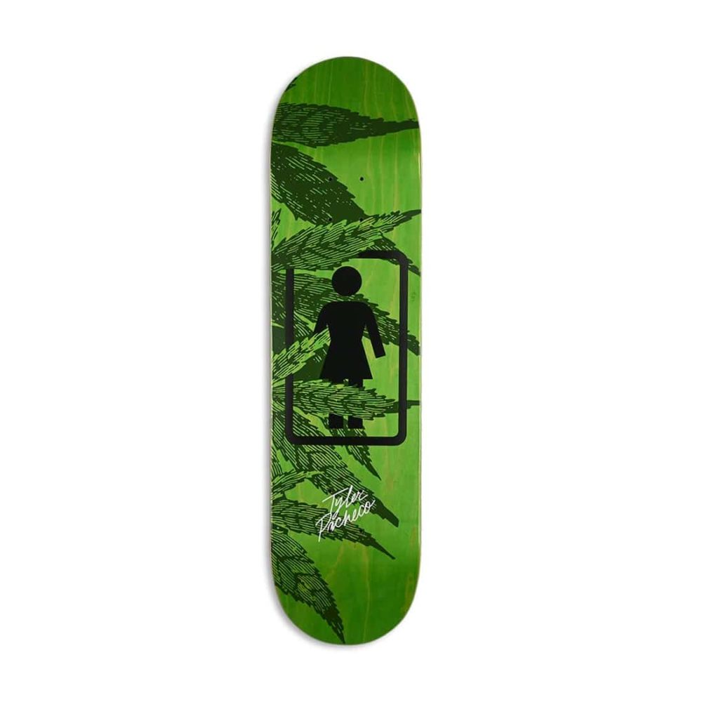 Girl Smoke Session One Off W40 Tyler Pacheco Skateboard Deck