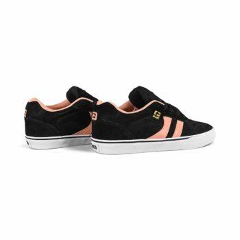 Globe Encore 2 Skate Shoes - Black / Salmon