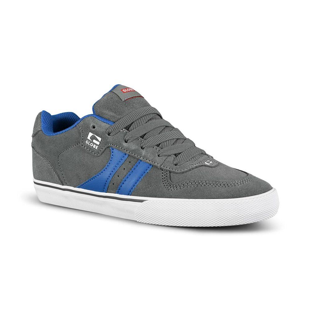 Globe Encore 2 Skate Shoes - Iron / Blue