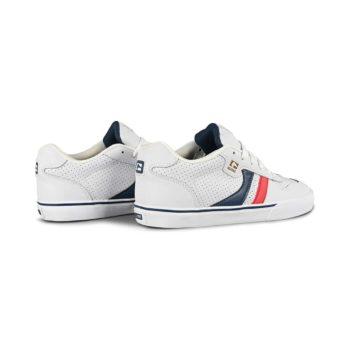 Globe Encore 2 Skate Shoes - White / Blue / Red