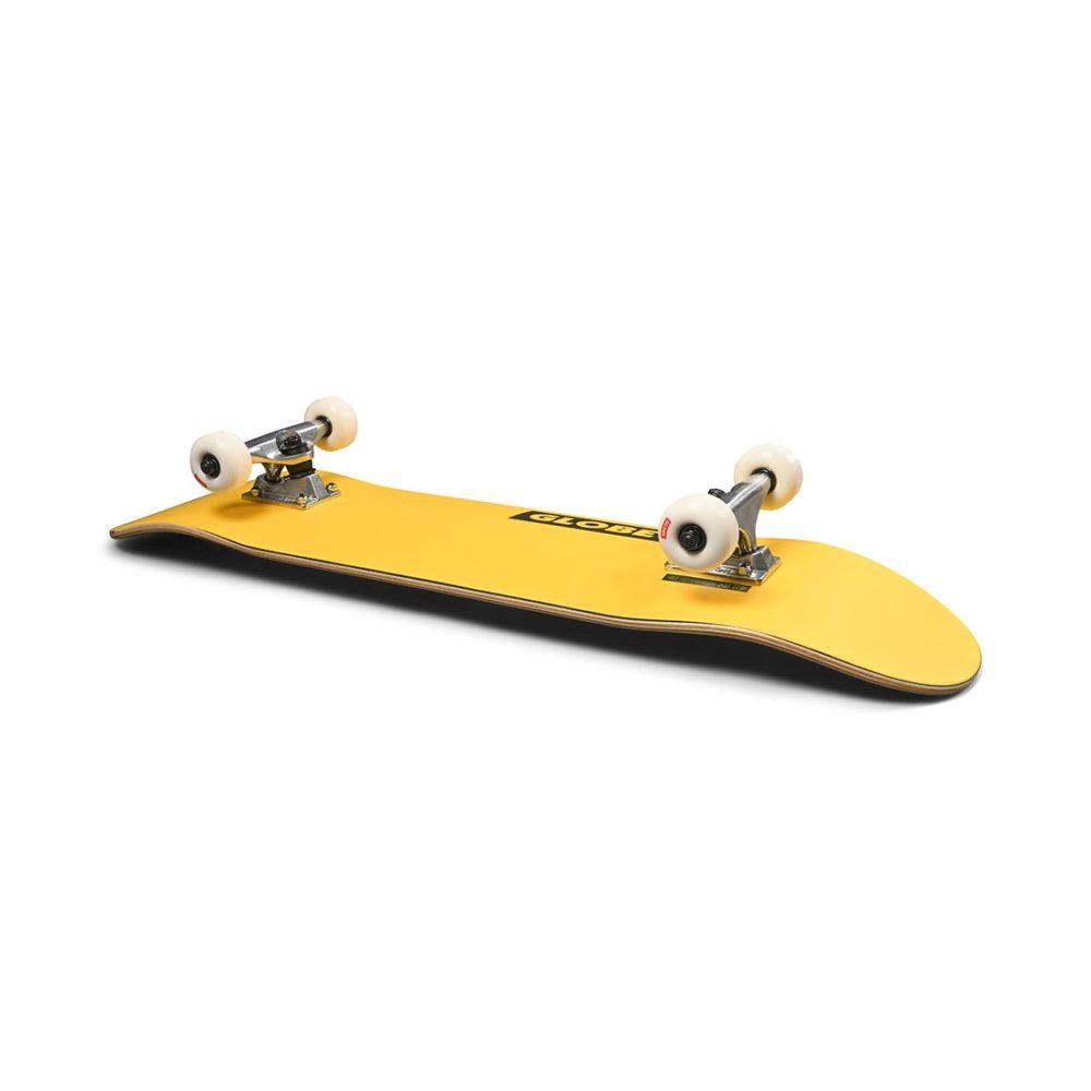 "Globe Goodstock 7.75"" Complete Skateboard - Neon Yellow"