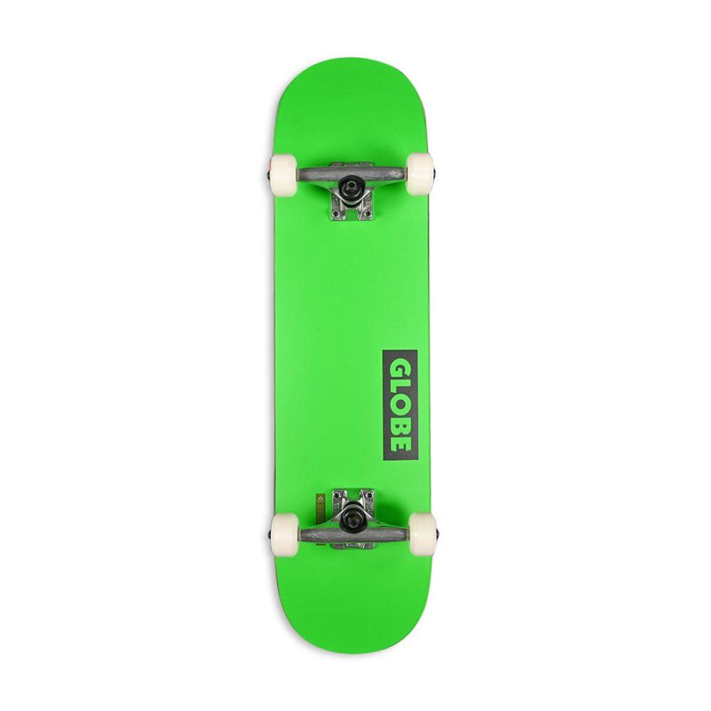 "Globe Goodstock 8"" Complete Skateboard - Neon Green"