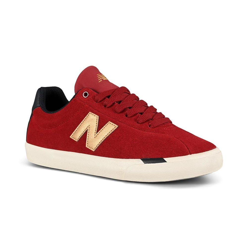 New Balance Numeric 22 Skate Shoes - Red / Gold